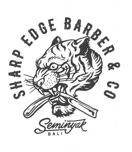 Sharp Edge Barber & Co Seminyak Logo